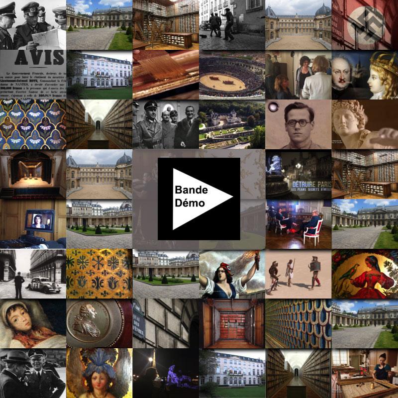 Extraits des différents documentaires de Françoise Cros de Fabrique