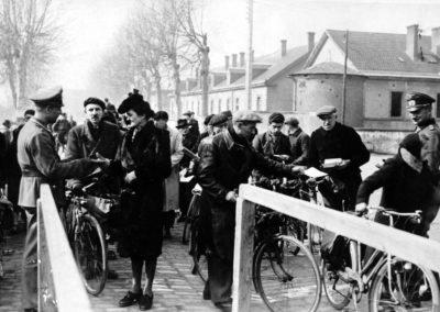 1940, La ligne de démarcation